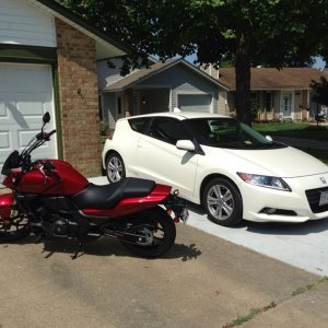 My Hondas; the day I brought Gunner Home